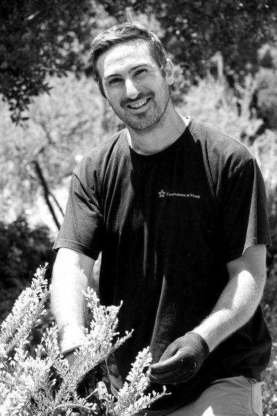 Basile RAPHEL, jardinier © Domaine du Rayol, Nicolas Mouny