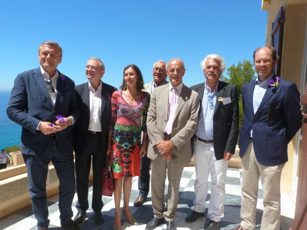 Inauguration de la Villa Rayolet