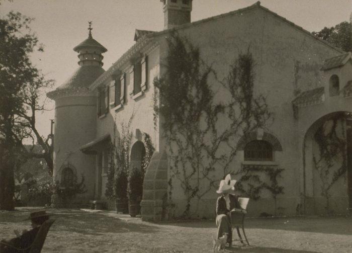 La Ferme dans les années 1910, du temps des Courmes