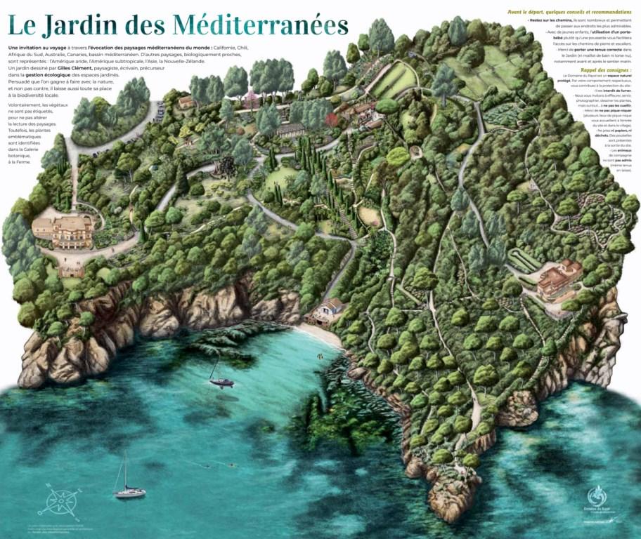 Un nouveau plan pour découvrir Le Jardin des Méditerranées