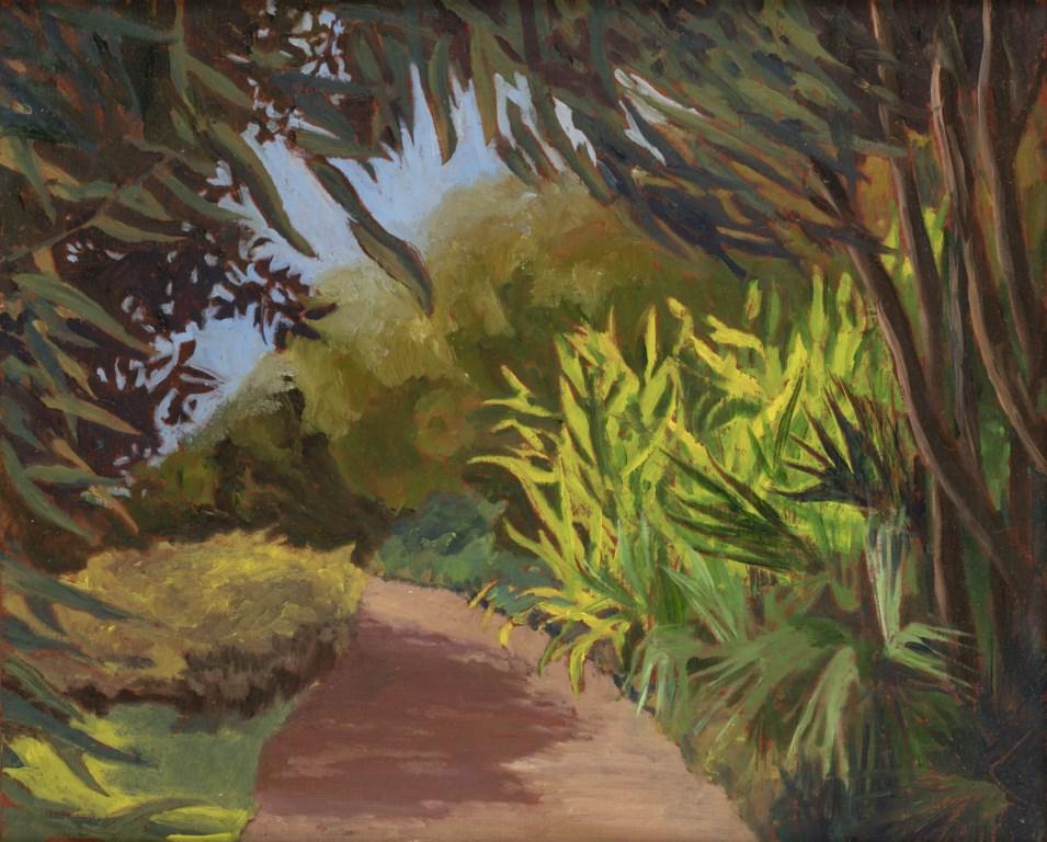 Exposition De La Nature Peintures De Corinne Pauvert Domaine Du Rayol