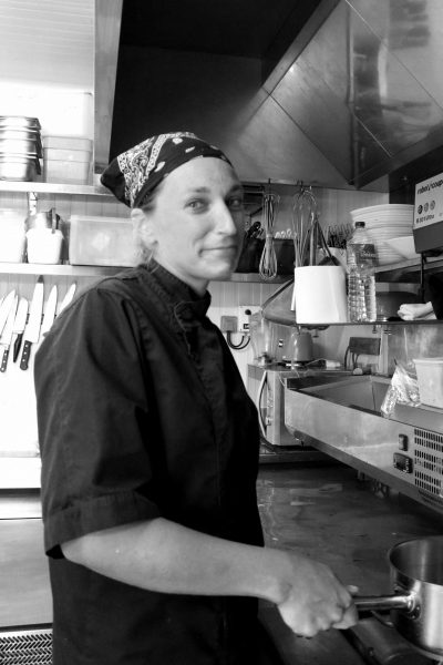 Marie MATTHIEU, seconde de cuisine © Domaine du Rayol, Nicolas Mouny