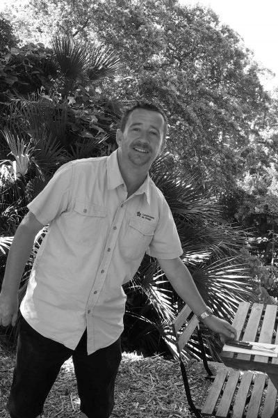 Matthieu FASQUEL, responsable Café des Jardiniers © Domaine du Rayol, Sarah Mutonni