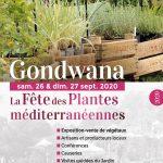 Dépliant Gondwana 2020, la Fête des Plantes méditerranéennes