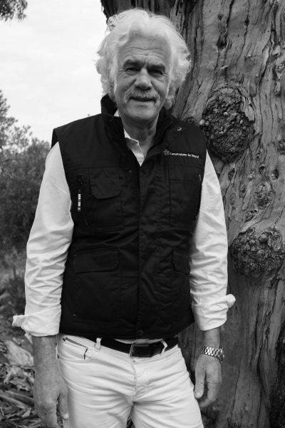 André DEL MONTE - Président de l'Association du Domaine du Rayol